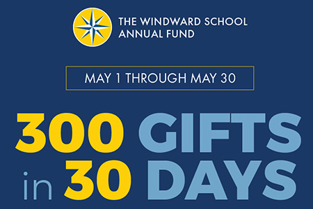 May 1-30: 300 Gifts in 30 Days Annual Fund Challenge